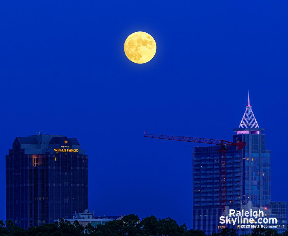 August 2 Moonrise