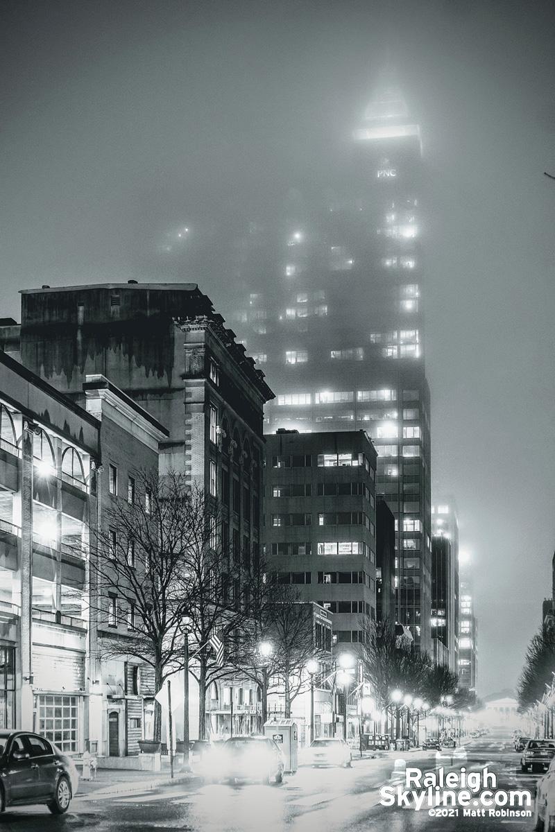 Fayetteville Street Fog